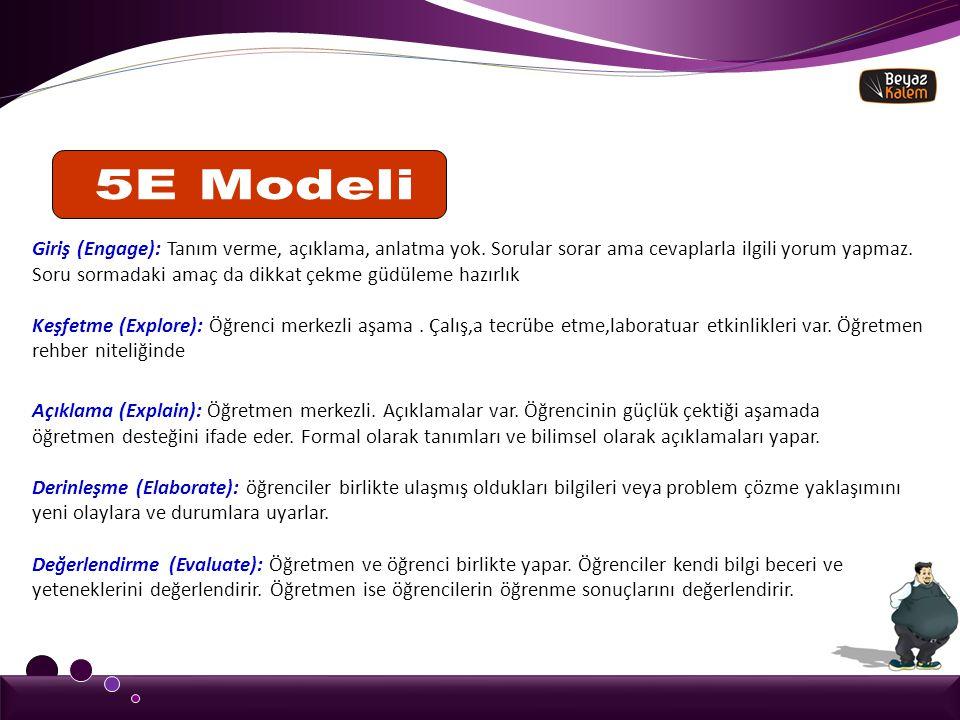 5E Modeli