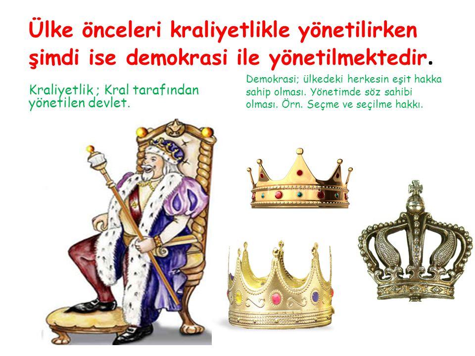 Ülke önceleri kraliyetlikle yönetilirken şimdi ise demokrasi ile yönetilmektedir.