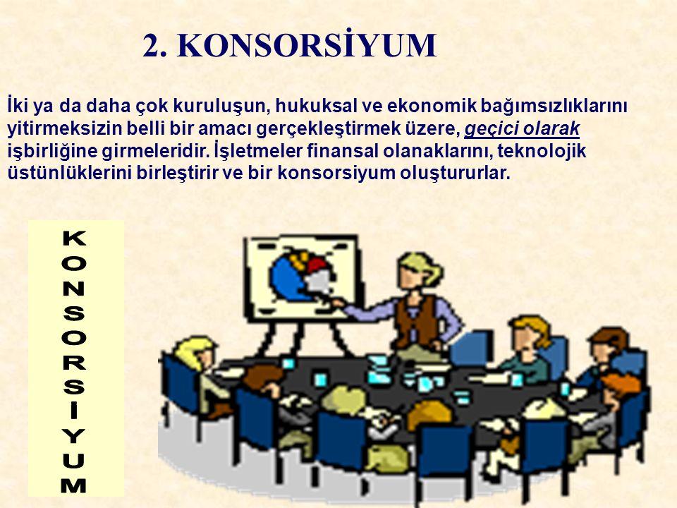 2. KONSORSİYUM KONSORSİYUM