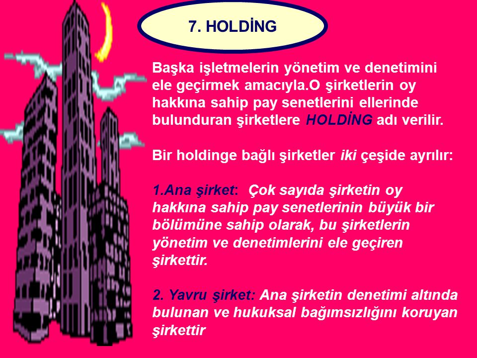 7. HOLDİNG