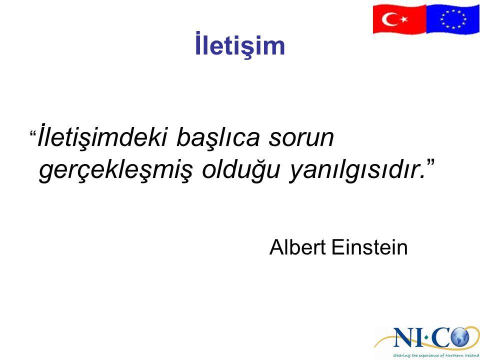 İletişim Albert Einstein