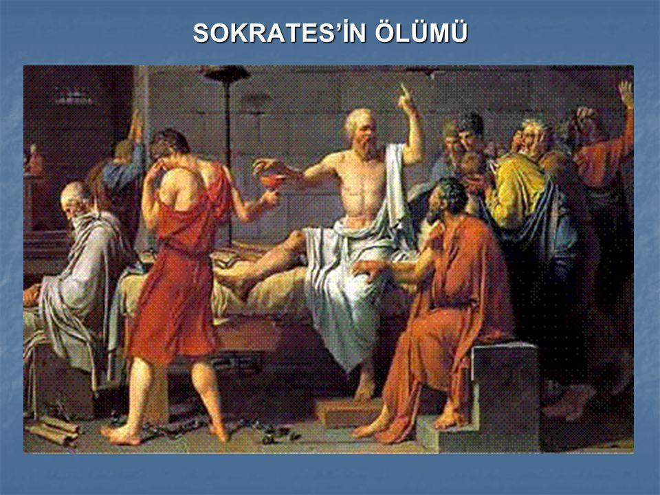 SOKRATES'İN ÖLÜMÜ