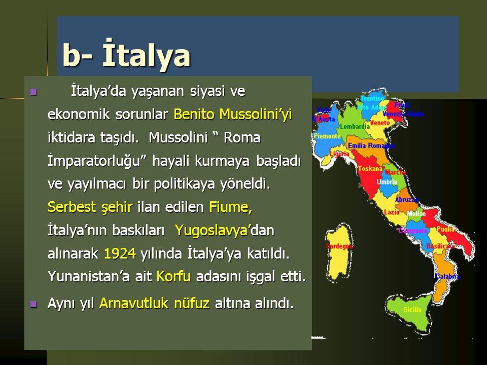 b- İtalya