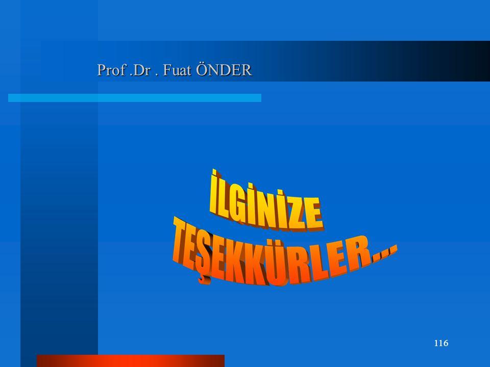 Prof .Dr . Fuat ÖNDER