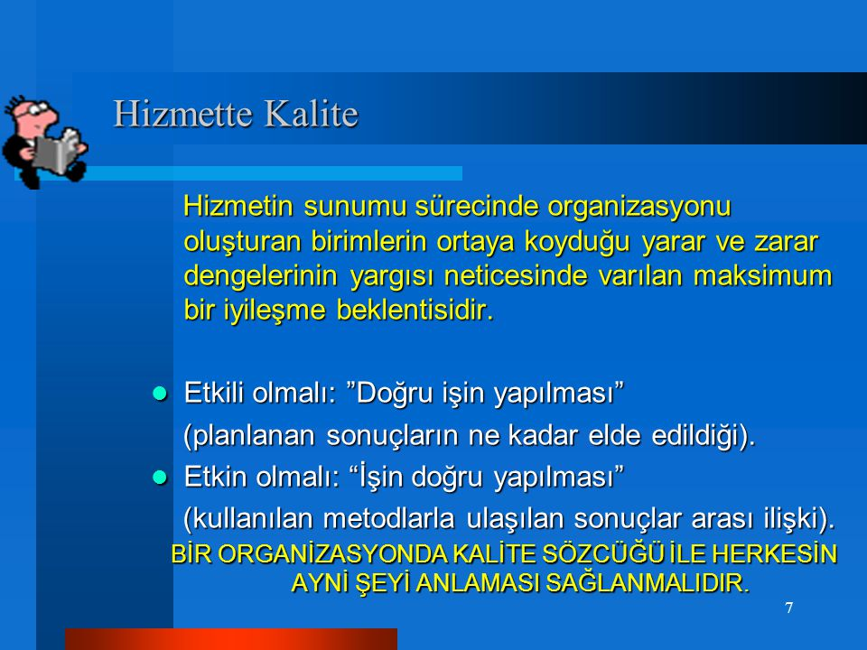 Hizmette Kalite