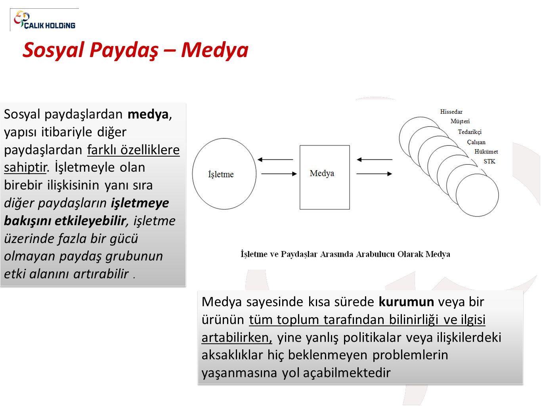 Sosyal Paydaş – Medya