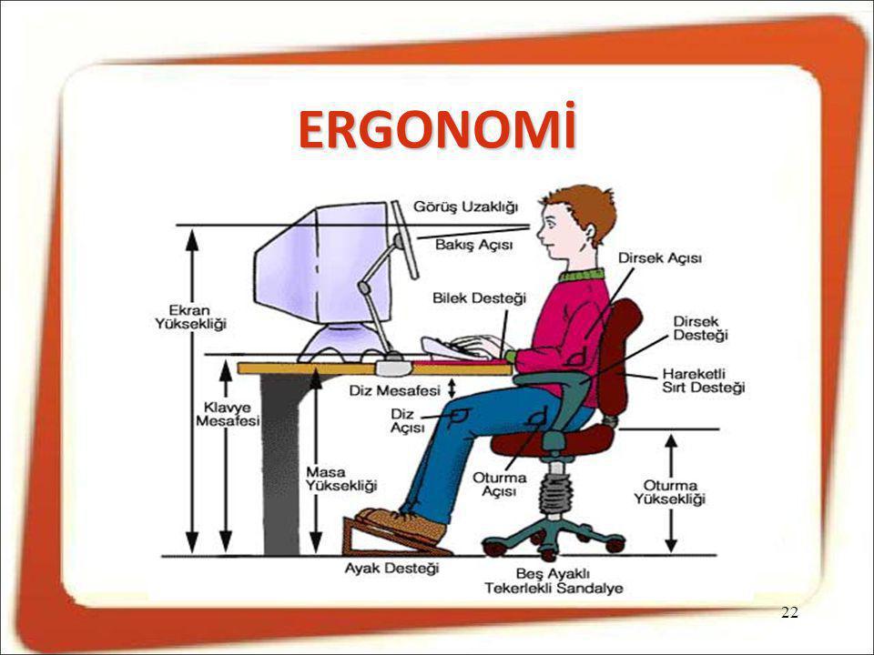 ERGONOMİ 22