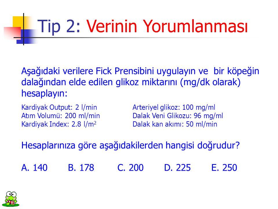 Tip 2: Verinin Yorumlanması