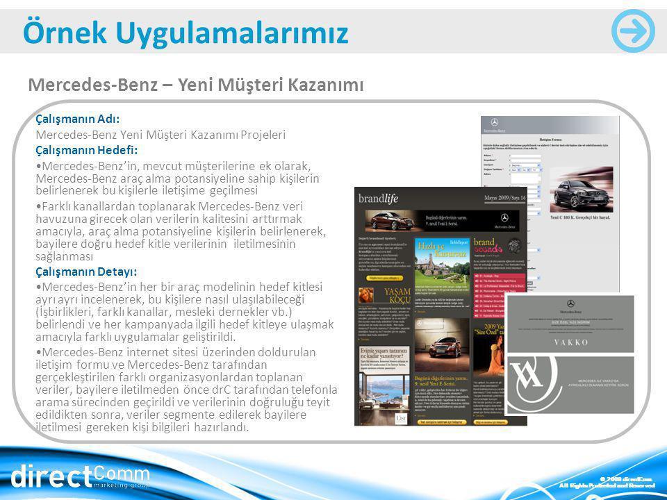 Mercedes-Benz – Yeni Müşteri Kazanımı