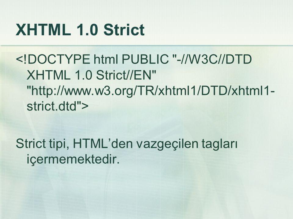 XHTML 1.0 Strict <!DOCTYPE html PUBLIC -//W3C//DTD XHTML 1.0 Strict//EN http://www.w3.org/TR/xhtml1/DTD/xhtml1-strict.dtd >