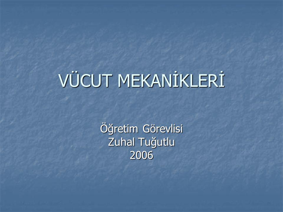 Öğretim Görevlisi Zuhal Tuğutlu 2006