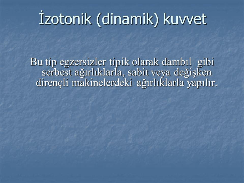 İzotonik (dinamik) kuvvet
