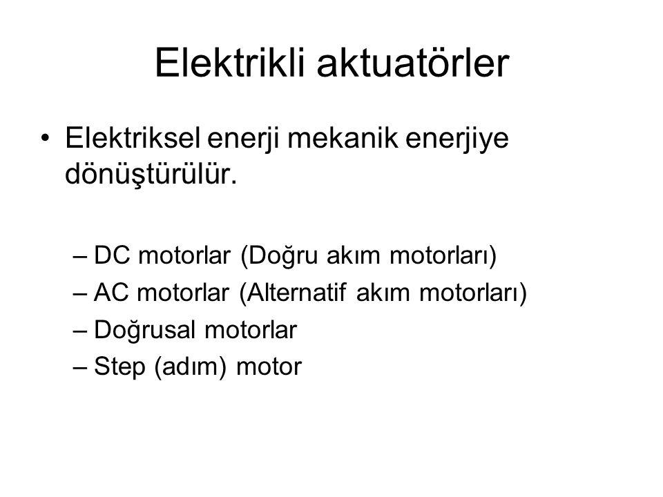 Elektrikli aktuatörler