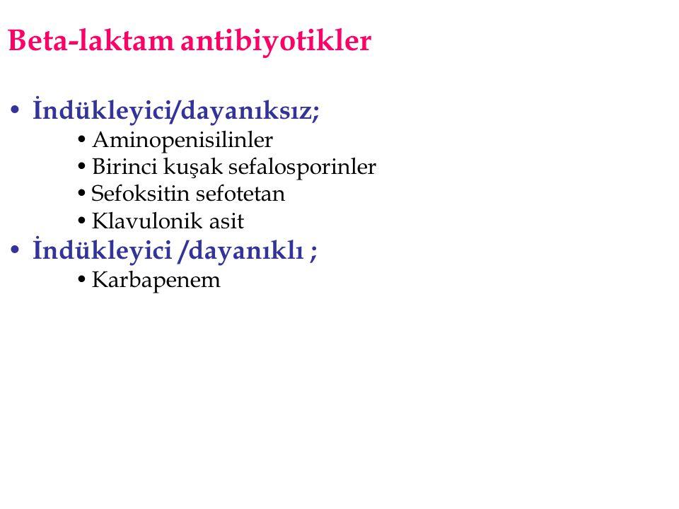Beta-laktam antibiyotikler