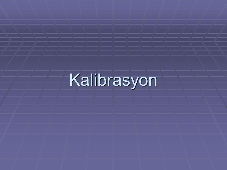 Kalibrasyon