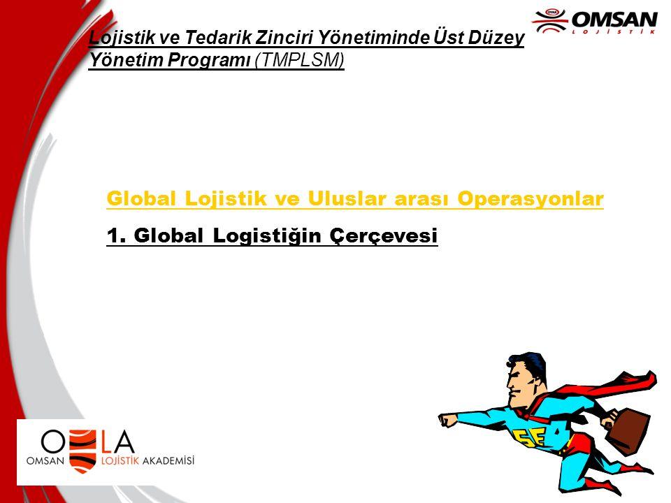 Global Lojistik ve Uluslar arası Operasyonlar