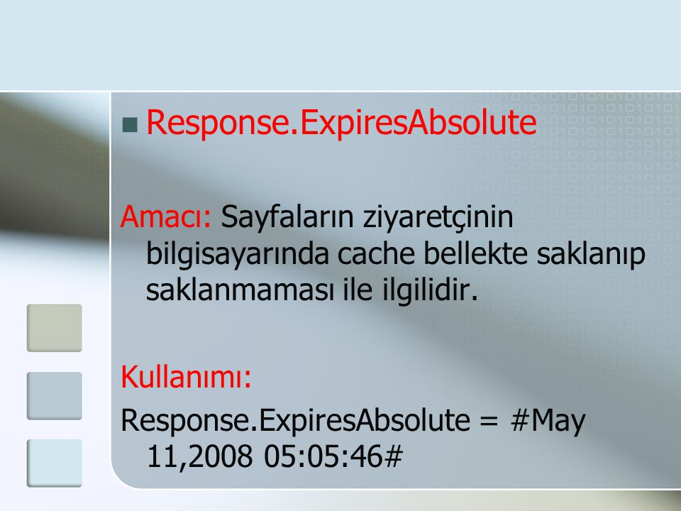 Response.ExpiresAbsolute