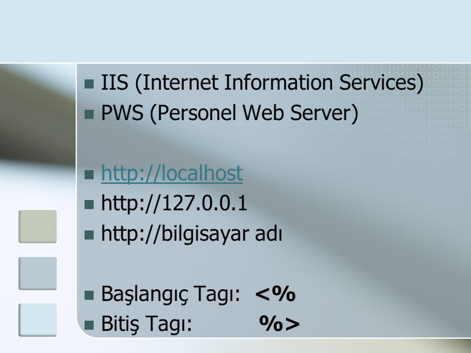 IIS (Internet Information Services)