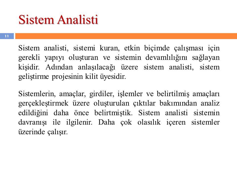 Sistem Analisti