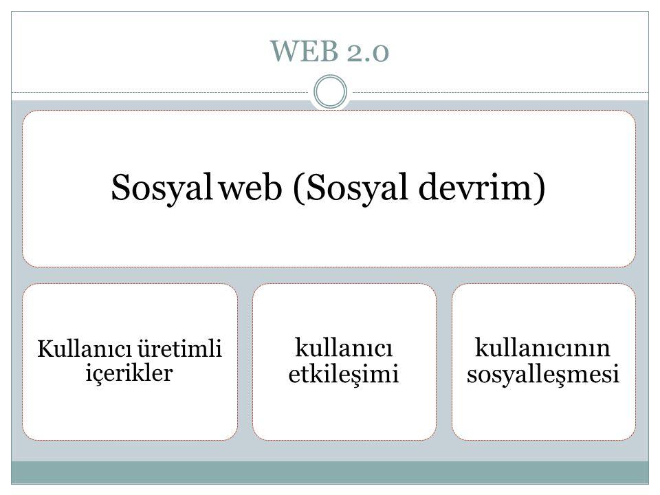 Sosyal web (Sosyal devrim)