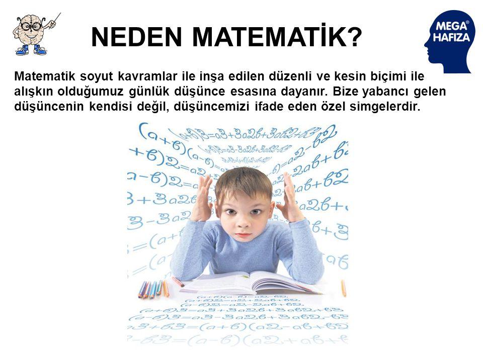 NEDEN MATEMATİK