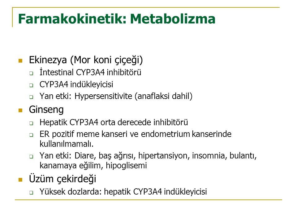 Farmakokinetik: Metabolizma