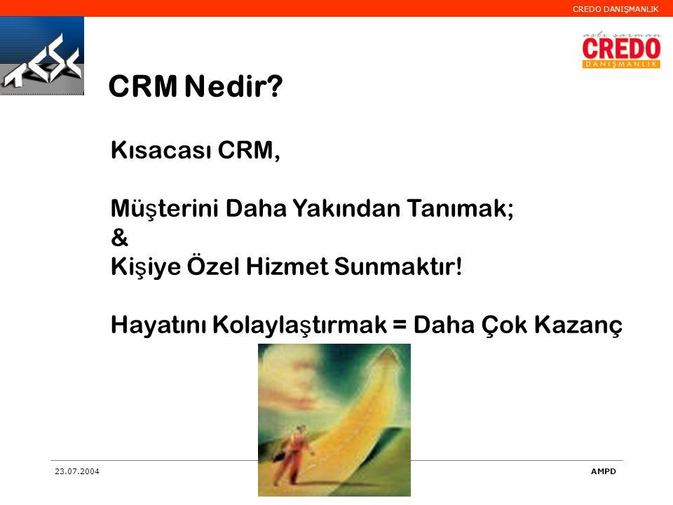 CRM Nedir Kısacası CRM, Müşterini Daha Yakından Tanımak; &