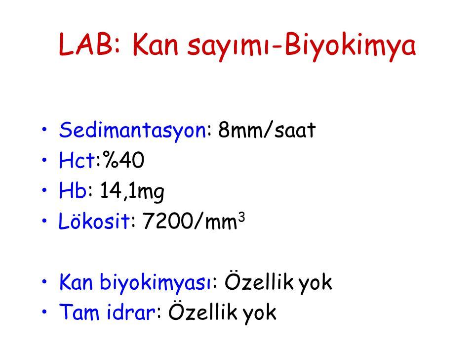 LAB: Kan sayımı-Biyokimya