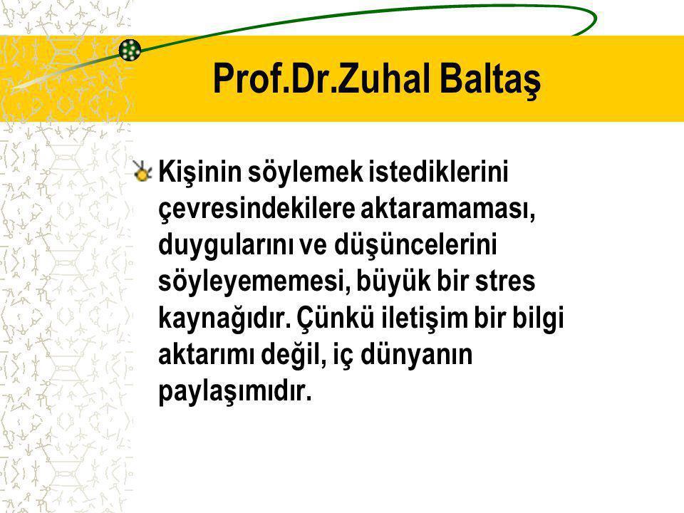 Prof.Dr.Zuhal Baltaş