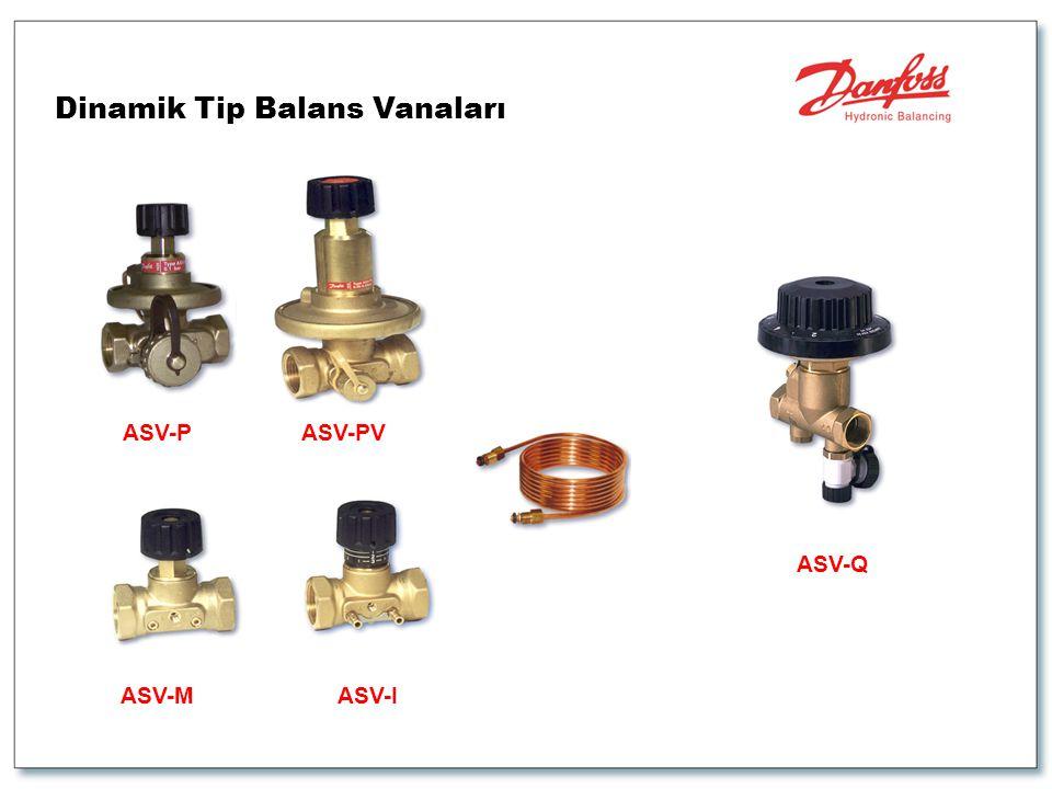 Dinamik Tip Balans Vanaları