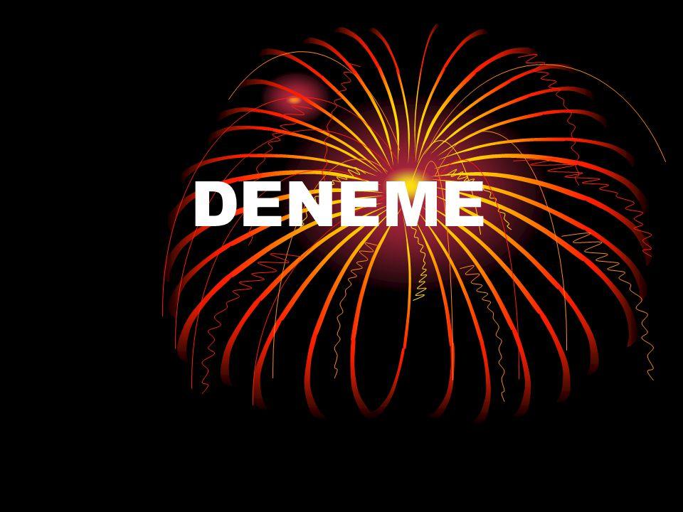 DENEME