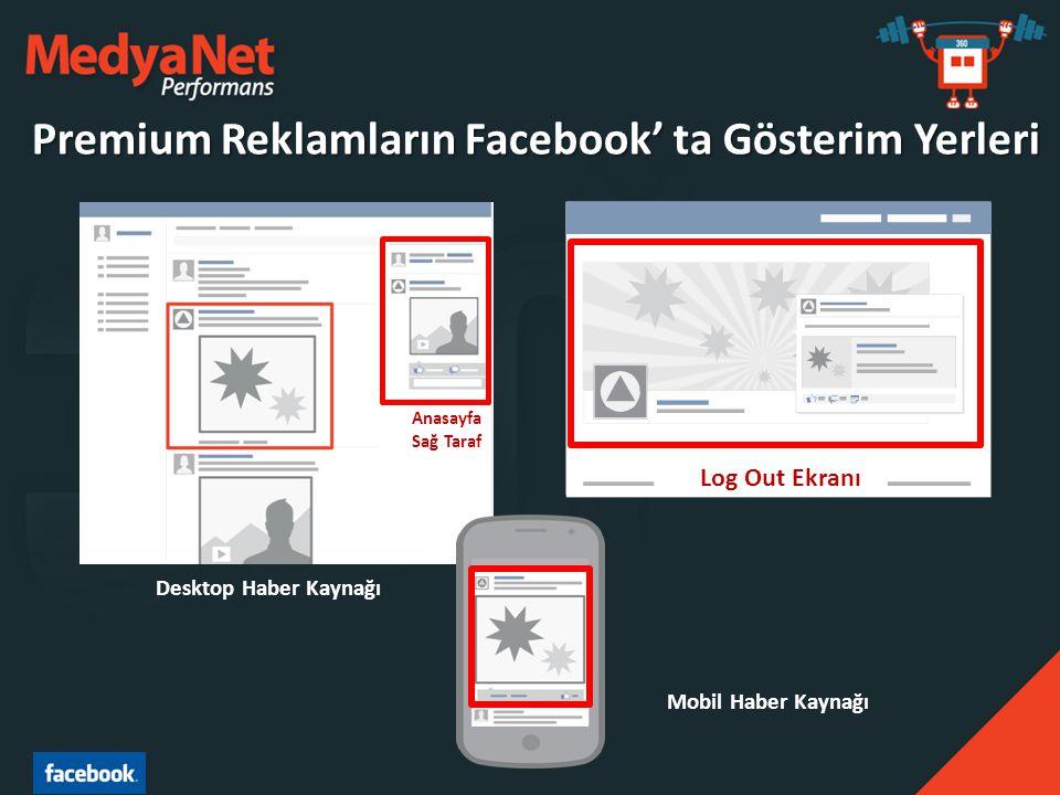 Premium Reklamların Facebook' ta Gösterim Yerleri