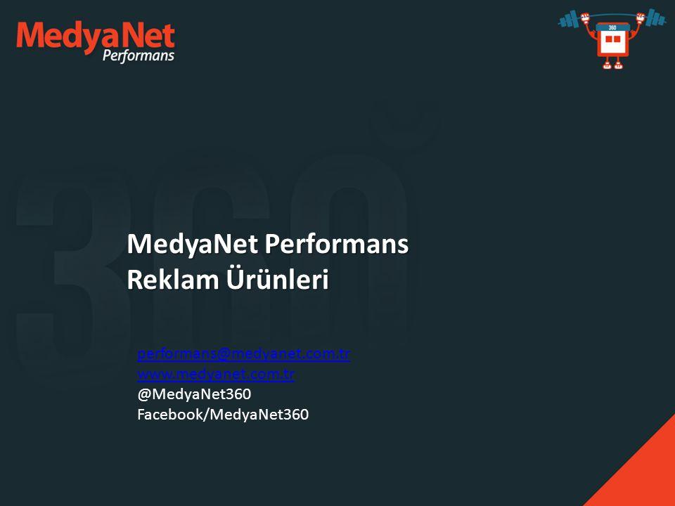 MedyaNet Performans Reklam Ürünleri
