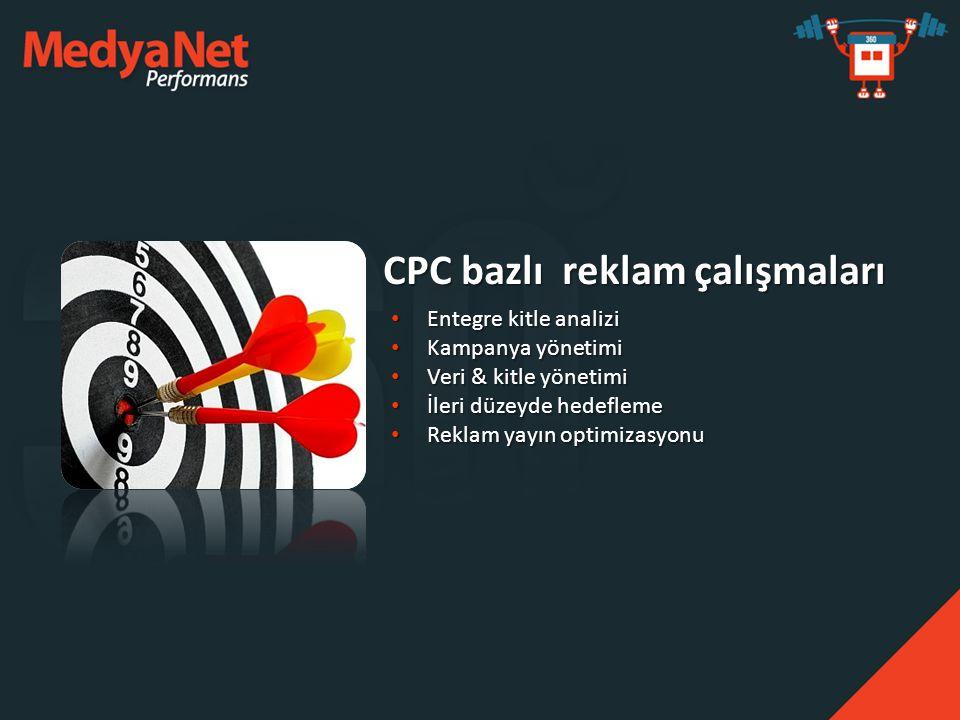 CPC bazlı reklam çalışmaları