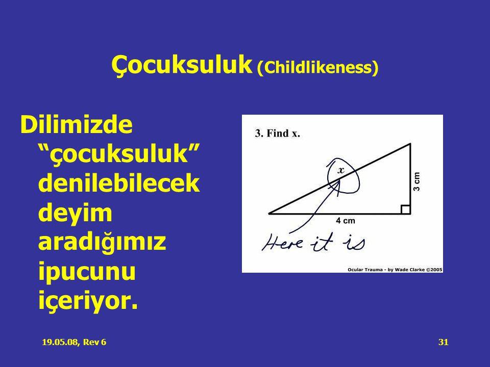 Çocuksuluk (Childlikeness)