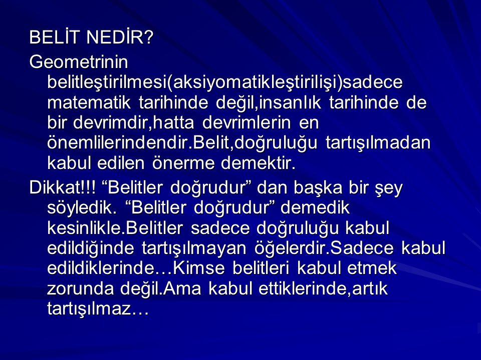 BELİT NEDİR
