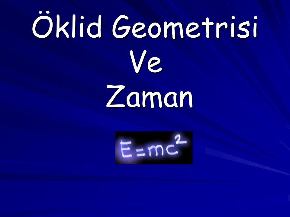 Öklid Geometrisi Ve Zaman