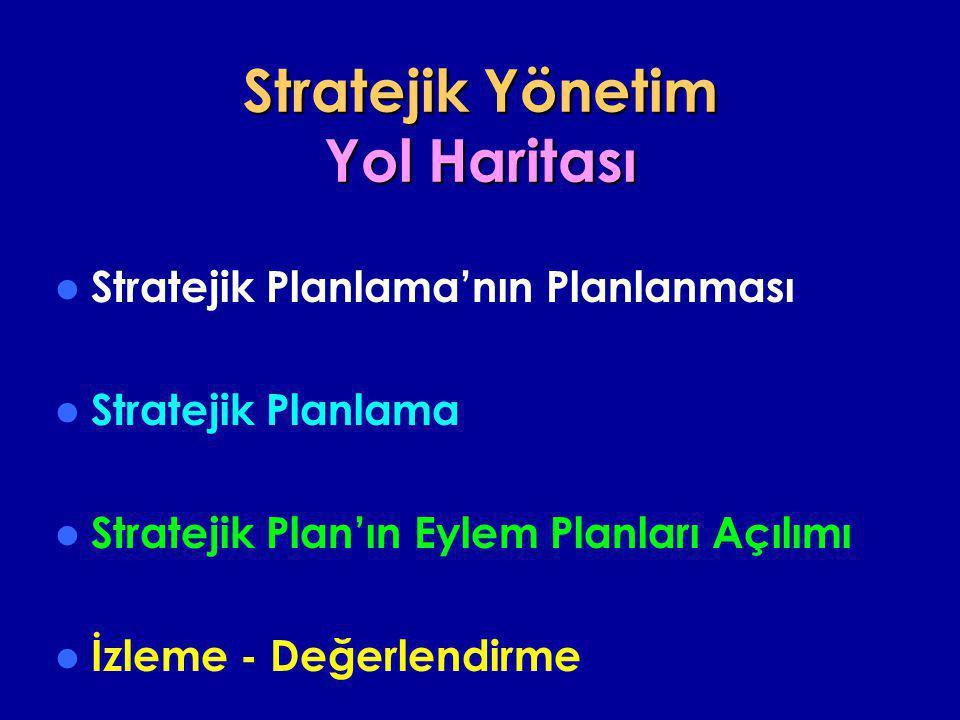 Stratejik Yönetim Yol Haritası