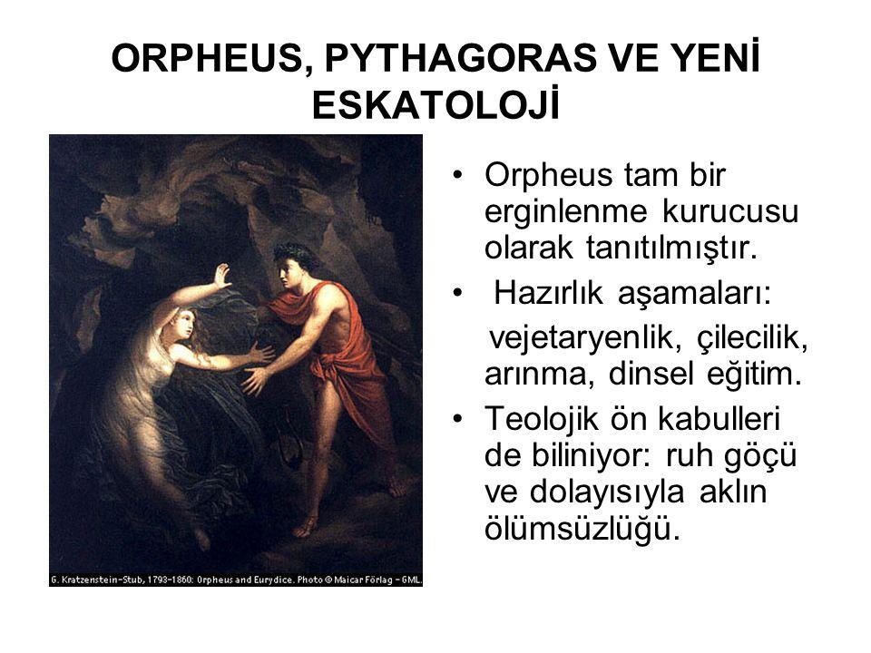 ORPHEUS, PYTHAGORAS VE YENİ ESKATOLOJİ