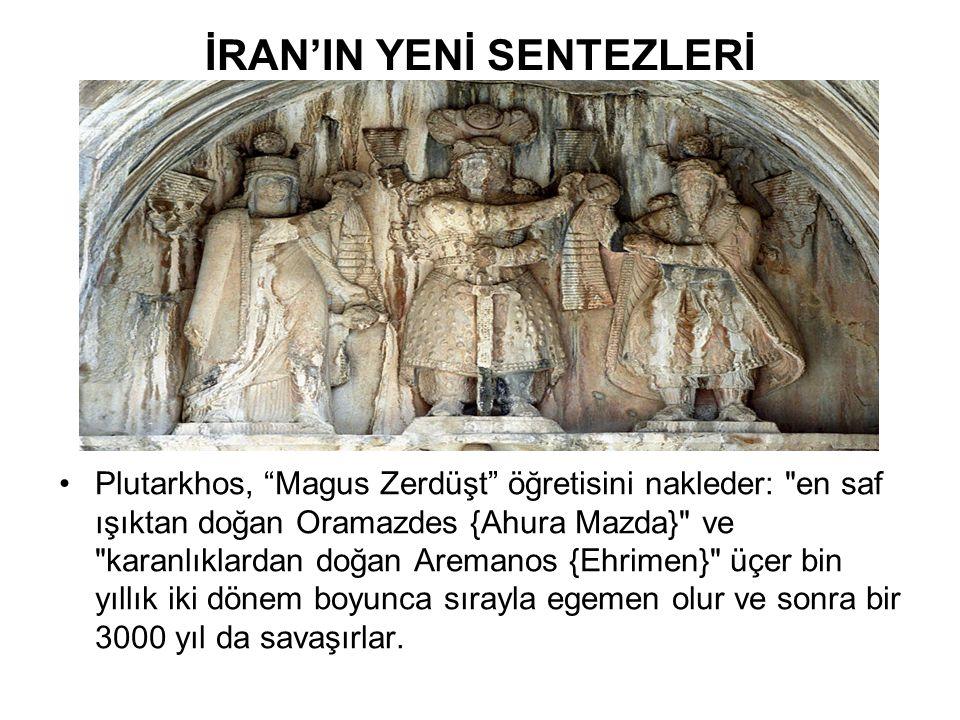 İRAN'IN YENİ SENTEZLERİ