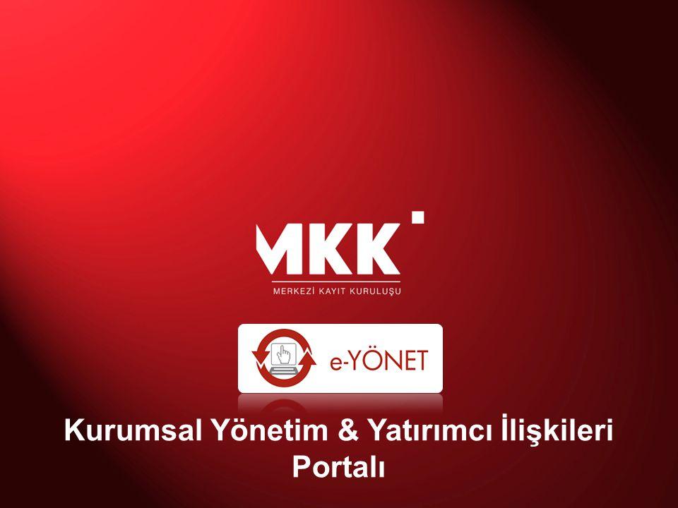 Kurumsal Yönetim & Yatırımcı İlişkileri Portalı