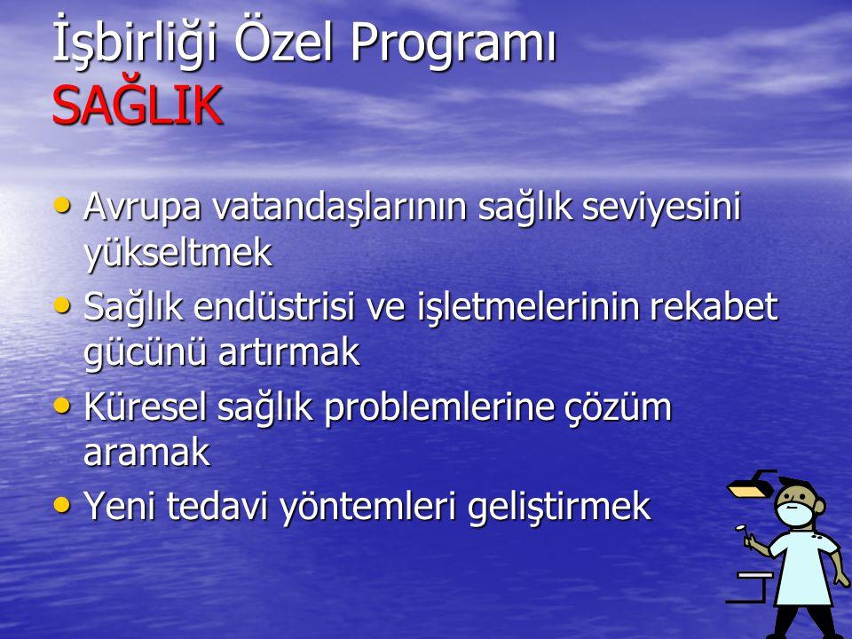 İşbirliği Özel Programı SAĞLIK