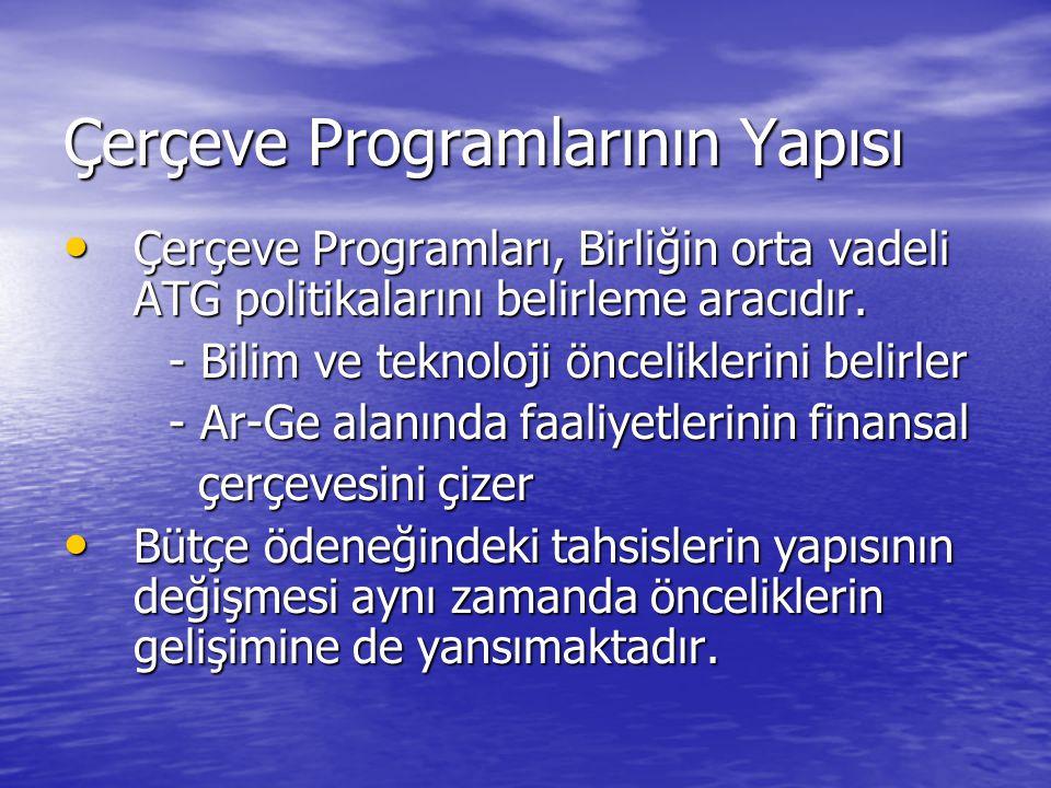 Çerçeve Programlarının Yapısı
