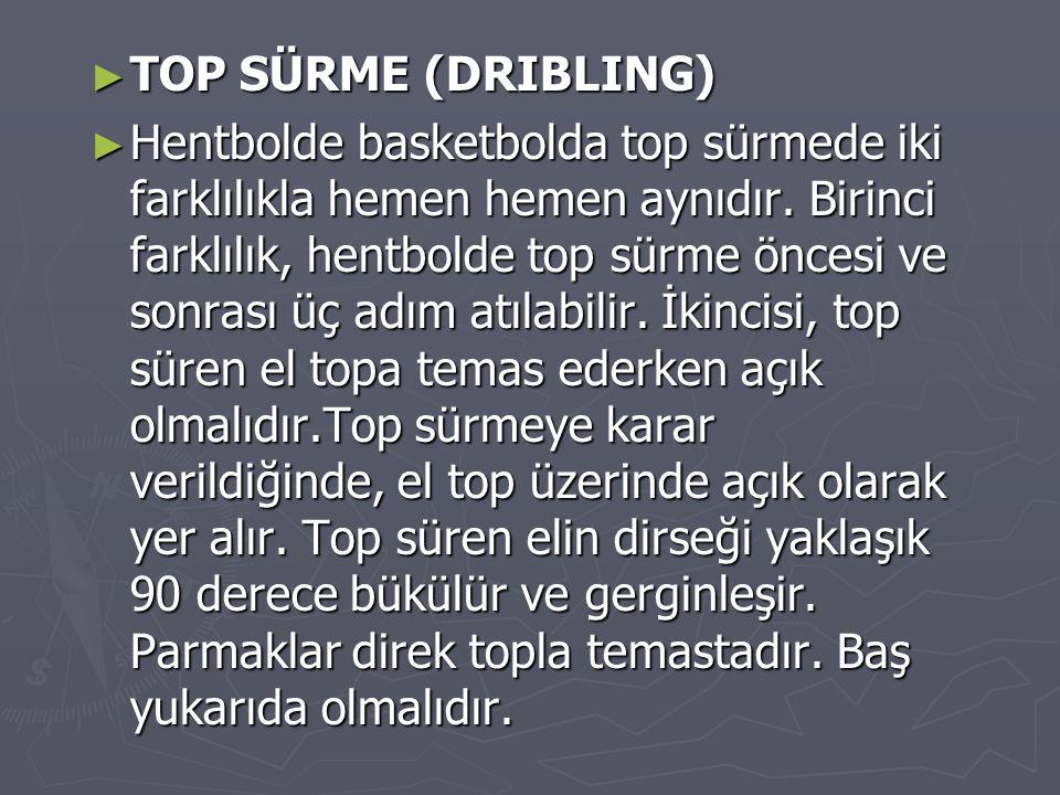 TOP SÜRME (DRIBLING)
