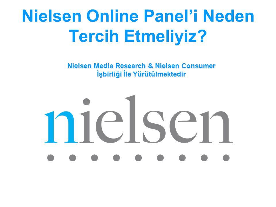 Nielsen Online Panel'i Neden Tercih Etmeliyiz
