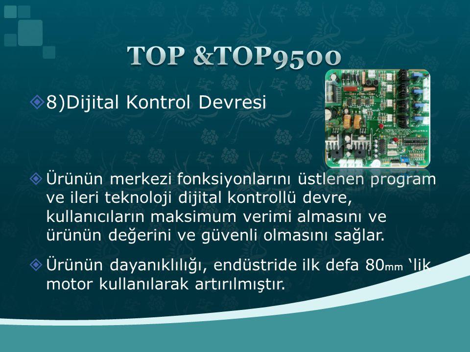 TOP &TOP9500 8)Dijital Kontrol Devresi