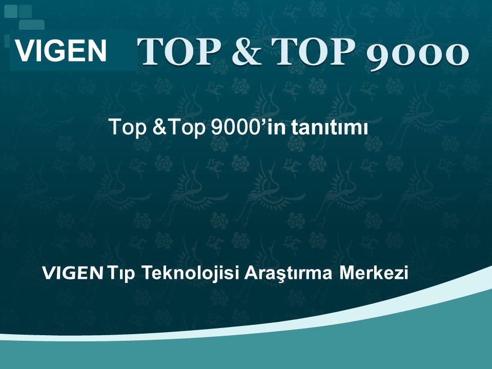 VIGEN Top &Top 9000'in tanıtımı