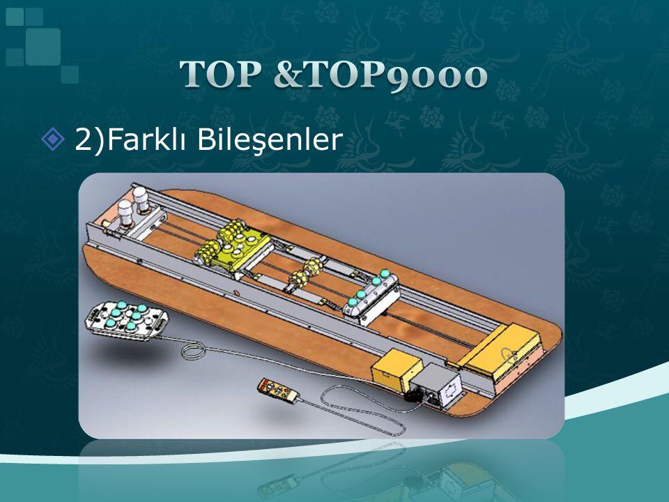 TOP &TOP9000 2)Farklı Bileşenler