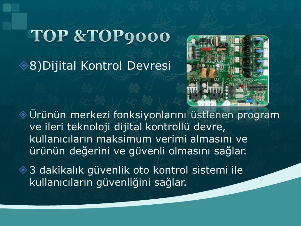 TOP &TOP9000 8)Dijital Kontrol Devresi