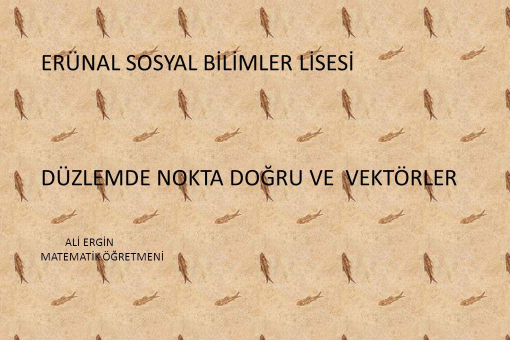 ERÜNAL SOSYAL BİLİMLER LİSESİ
